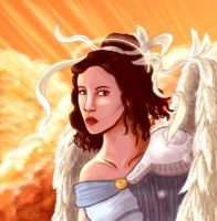 Angelic Vision by ladindequichante