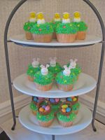 Easter Cupcakes by Kiilani