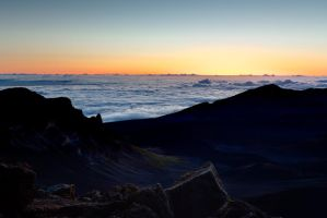 Haleakala Sunrise by namespace