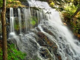 Ricketts Glen State Park 87 by Dracoart-Stock