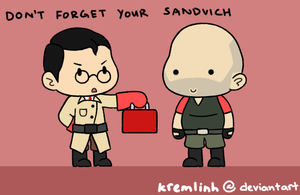 Don't Forget Your Sandvich by kremlinh