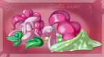 Good Night Pinkie and Gummy by PauuhAnthoTheCat