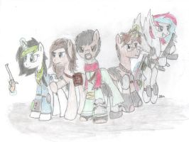 Fall Out Equestria (Brogar's group) by BrogarArts