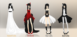 .: CdR - Aceline's Outfits :3 :. by melloskitten