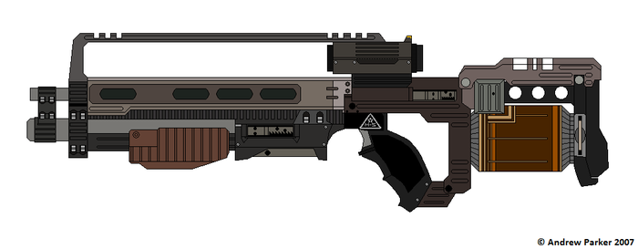Helghast rifle by parksy04