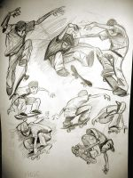 Skater Sketches by heckthor