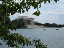 jefferson memorial by jbaby89