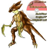 Kabutops Armor by monchiken