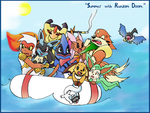 Summer with Random Doom by Kanokawa