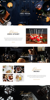 ROSA - An Exquisite Restaurant Theme by sandracz