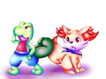 Super Mystery Dungeon by Twin-Cats