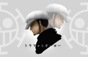Trafalgar Law - one piece by cloud0032000