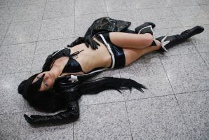Black Rock Shooter by EloraBorealis