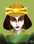 Kyoshi Warrior by xldlcrz