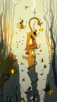 Another Witch House by PascalCampion