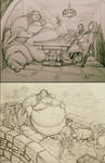 Living in a Hobbit Paradise: Pt. 19 and 20 by Ray-Norr