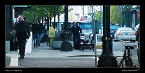 Man on a Cellphone by bdpART