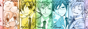 Ouran Host Club by Lunatia