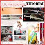 Asuna Sword tutorial by HeavenAndSky