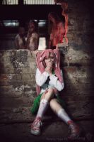 Highschool of the Dead - Saya Takagi VII by Calssara