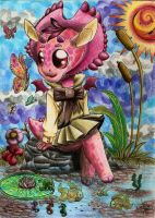 Look a colorfull butterfly by Keto-Schneider
