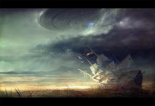 Mothership arrives by MartaNael