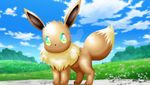 Eevee Recolor by kunai-of-the-sand