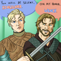 Of Houses Tarth and Lannister by CaptainKnut