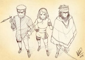 Team 7 (sketch) by kartasmita
