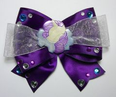 Rarity Hair Clip - MLPFiM by sakkysa