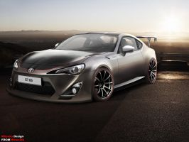 TOYOTA GT86 by mitsukodesign