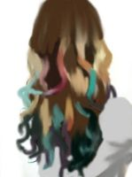 dip dye by Little-Red-Kitty