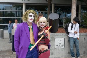 Mr. J and Harl for life by RaindropCosplay
