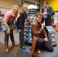 New WHO meets Classic Dalek by angelofmusicuk