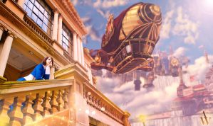 Daydreaming in the skies - Bioshock Infinite by AndyWana