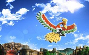 Ho-Oh in the hidden leaf by hanzojr