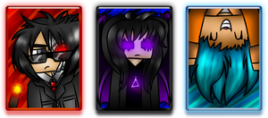 New Comissions: ACEOs by TVZRandomness