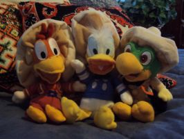 The Three Caballeros by RoryObannion