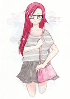 Casual Red by TsukishimaYume