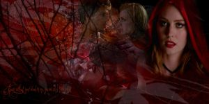 Jessica and Jason ~ Little Red Riding Hood by KathleenCasey