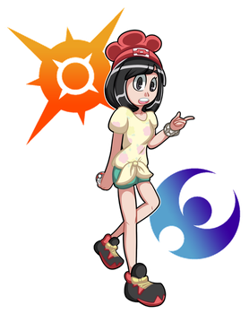 Pokemon Sun and Moon by TechnoGamerSpriter