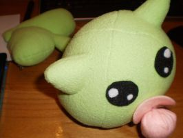LeafMon Plushie by DEAFHPN