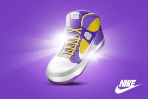 Concept Purple sneakers by snikers15