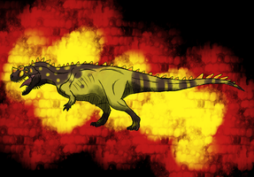 Ceratosaurus Sketch by T-Reqs