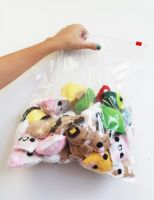 Bag of Keychains by CosmiCosmos