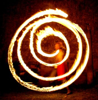 Fire Spiral II by MD-Arts