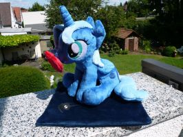(Sitting) Princess Luna Plushie by navkaze
