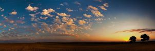 Cotton Ball Sunset II by kylewright