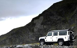 Land Rover Defender (Mountain View) by Grabacr96
