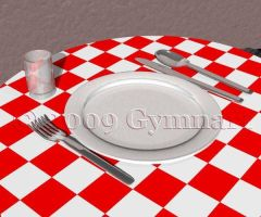 Table Place Setting by Gymnart